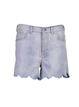 Load image into Gallery viewer, Lara shorts blue linen _Front.jpg