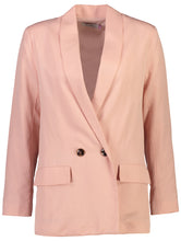 Load image into Gallery viewer, Longline Blazer | Pink Petal