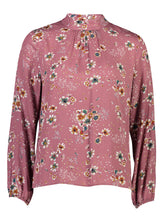 Load image into Gallery viewer, Luna Top Plum Floral _Front.jpg