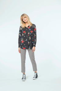 Millie Blouse & Jade Pant - Floral Dot & New Plaid .jpg