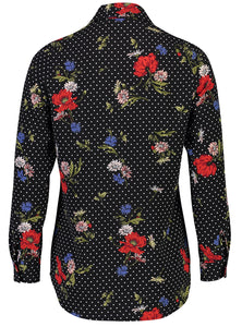 Millie Blouse Floral dot_Back.jpg