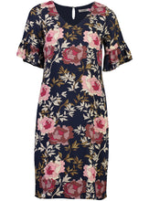 Load image into Gallery viewer, Narelle Dress Midnight Bloom_Front.jpg