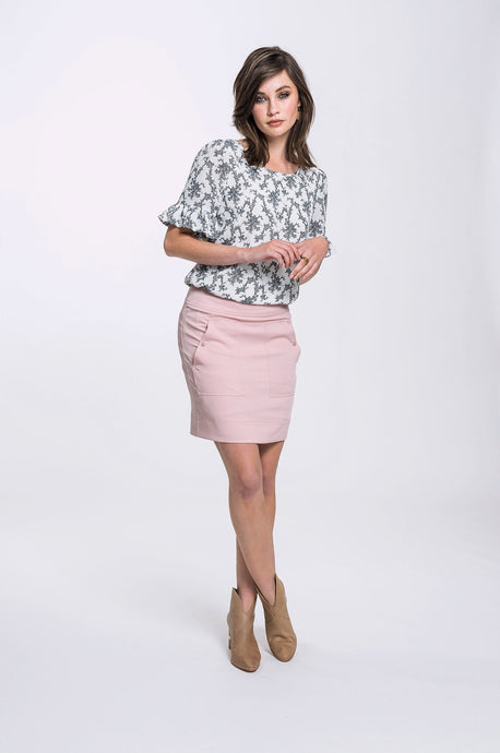 Narelle Top- White Ditsy & Bianca Skirt- Soft Pink.jpg
