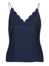 Load image into Gallery viewer, Penelope Cami Indigo Satin_Back.jpg