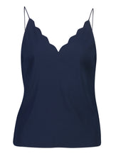 Load image into Gallery viewer, Penelope Cami Indigo Satin_Front.jpg