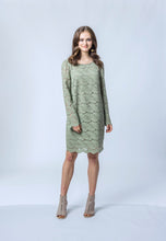 Load image into Gallery viewer, Penny Dress- Sage Lace 1.jpg