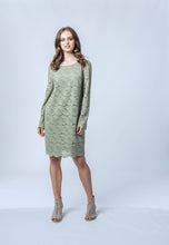 Load image into Gallery viewer, Penny Dress- Sage Lace 2.jpg