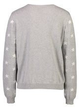 Load image into Gallery viewer, Robyn Jumper Grey Star_Back.jpg