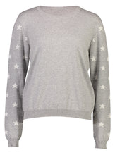 Load image into Gallery viewer, Robyn Jumper Grey Star_Front.jpg