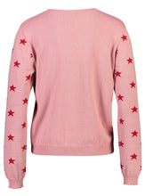 Load image into Gallery viewer, Robyn Jumper Pink Star _Back.jpg