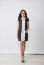 Sophie Dress | Black Stripe
