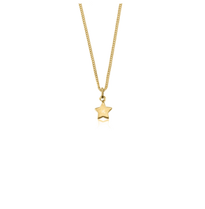 LA LUNA ROSE WISH UPON A STAR NECKLACE  - GOLD