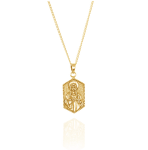 LA LUNA ROSE  ST DWYNWEN - PATRON SAINT OF LOVERS  - GOLD