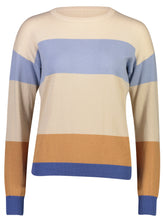 Load image into Gallery viewer, Soraya Jumper Natural Stripe_Front.jpg