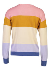 Load image into Gallery viewer, Soraya Jumper Rainbow Stripe _Back.jpg