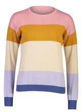 Load image into Gallery viewer, Soraya Jumper Rainbow Stripe _Front.jpg