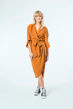 Load image into Gallery viewer, Suki Dress - Burnt Caramel.jpg