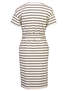 Theodora Dress Chestnut Stripe_Back.jpg