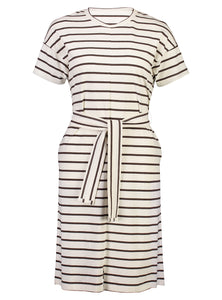 Theodora Dress Chestnut Stripe_Front.jpg