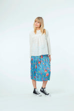 Load image into Gallery viewer, Willow Top & Faye Skirt - White Snow & Electric Bloom.jpg
