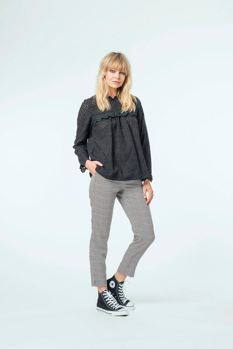 Willow Top & Jade Pant - Black Snow & New Plaid .jpg