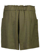 Load image into Gallery viewer, Winnie Shorts | Khaki Linen