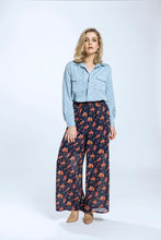Yvette Shirt & Briar Pants- Blue Tencel & Navy Pansy 2.jpg