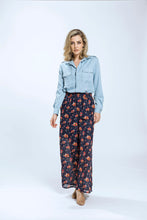 Yvette Shirt & Briar Pants- Blue Tencel & Navy Pansy 3.jpg