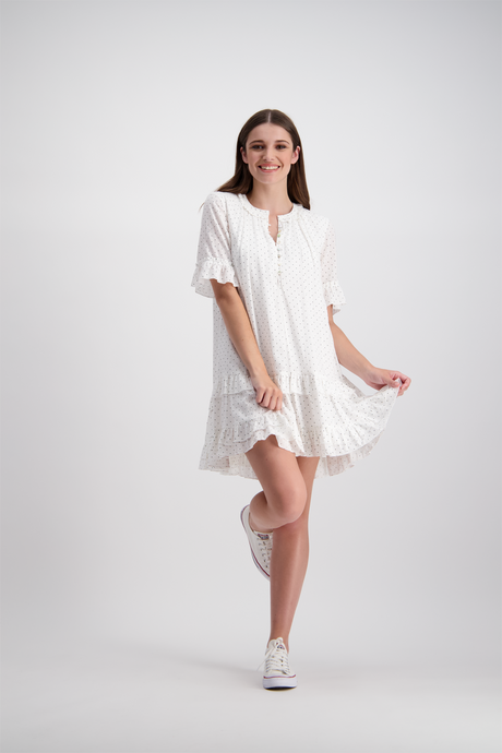 Annabelle Mini Dress | Milk Dot