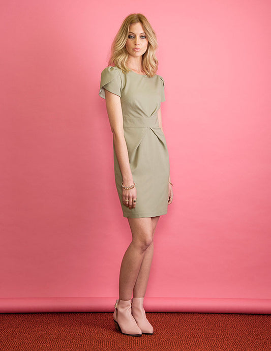 Brooke Dress | Pistachio