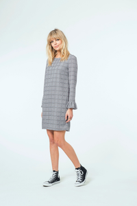 Giselle Dress | Printed Check
