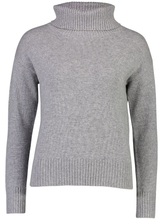 Load image into Gallery viewer, Roll Neck Jumper | Grey Cashmere