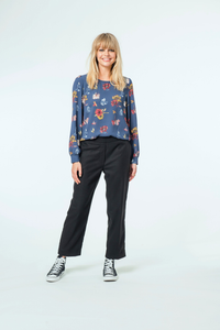 Layla Top | Petrel Flower