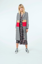 Load image into Gallery viewer, Madison Coat | Stripe Check