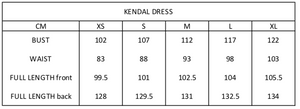 Kendal Dress | Black Pao