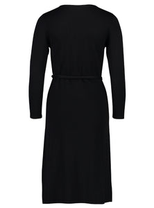 knit dress fine black _Back.jpg