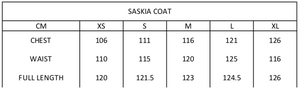 Saskia Coat | Black Diamond
