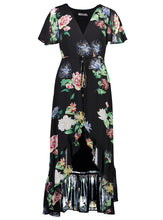 Load image into Gallery viewer, stevie Maxi Black Floral _Front.jpg