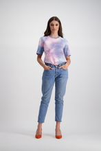 Relaxed Tee | Unicorn Tie Dye