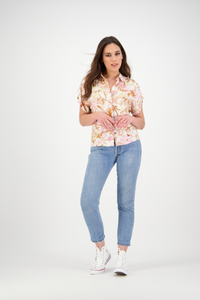 Marley Shirt | Cream Protea