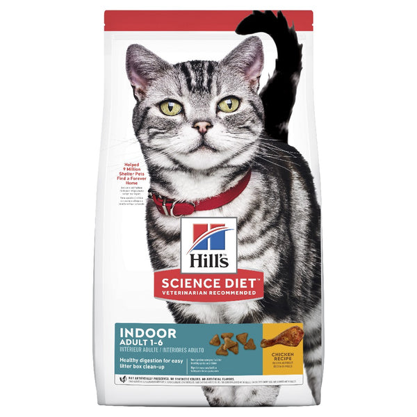 SCIENCE DIET FELINE ADULT INDOOR 4KG