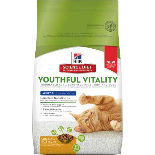 SCIENCE DIET FELINE YV 7+ CHIC 2.72KG