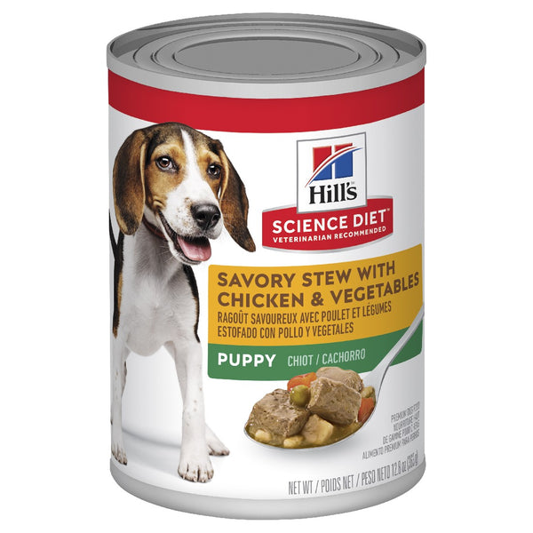 SCIENCE DIET PUPPY SAVORY STEW WITH CHICKEN 363G