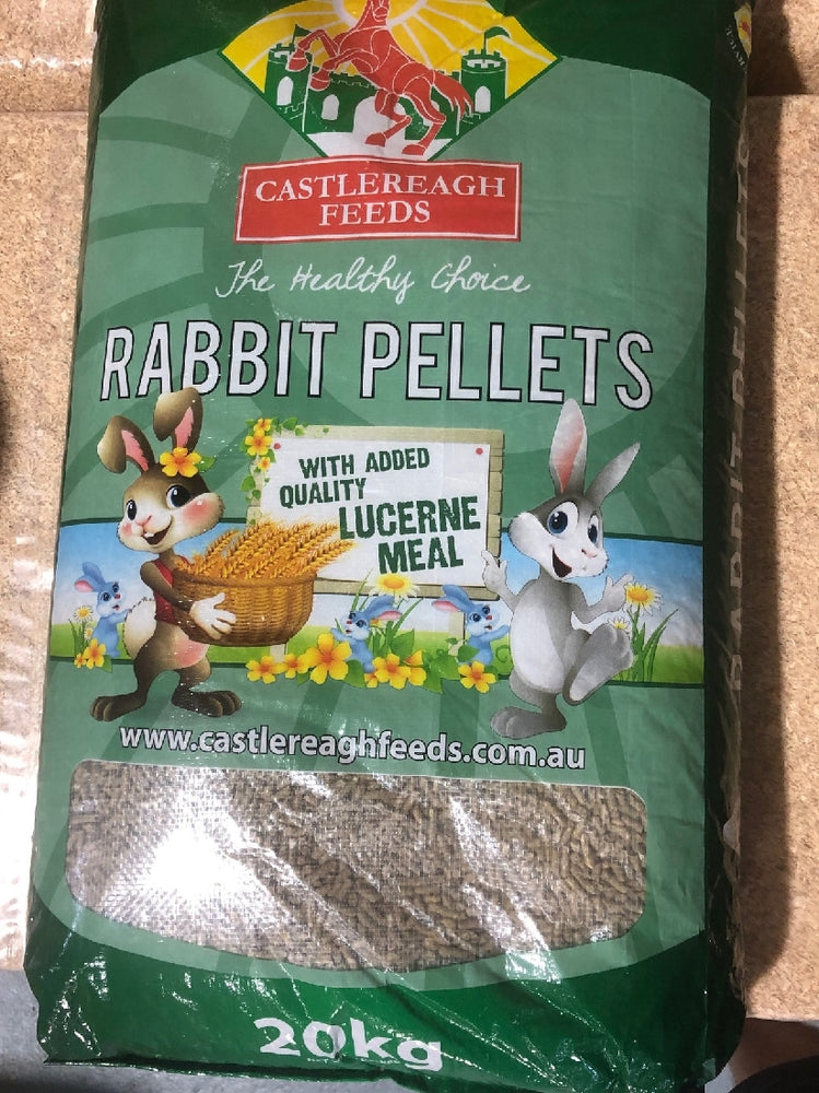 Rabbit Pellets 20kg Castlereagh