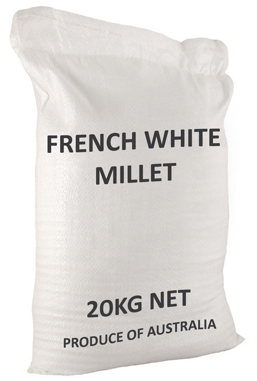 WHITE FRENCH MILLET 20 KG