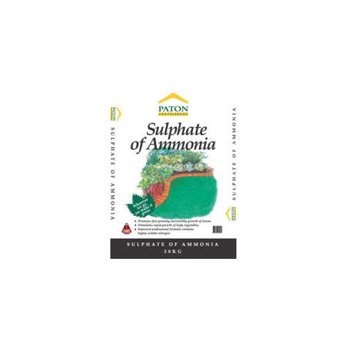 SULPHATE OF AMONIA 20KG PATONS