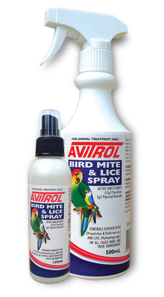 AVITROL BIRD MITE LICE SPRAY 250ML
