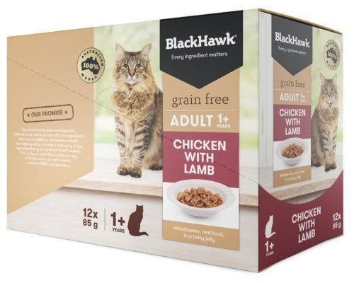 BLACK HAWK FELINE LAMB 85GX12