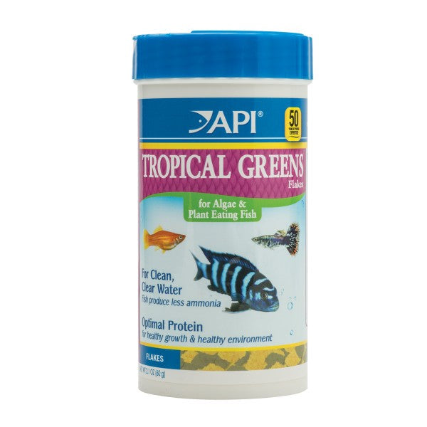 API - TROPICAL GREENS FLAKES 31GM