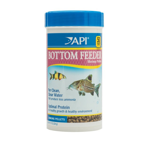API - BOTTOM FEEDER SHRIMP PELLETS - 224GM